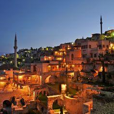 Argos in Cappadocia—Cappadocia, Turkey. #Jetsetter