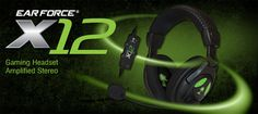 Turtle Beach Ear Force X12 Gaming Headset Giveaway.  Enter by June24th for your chance to win!