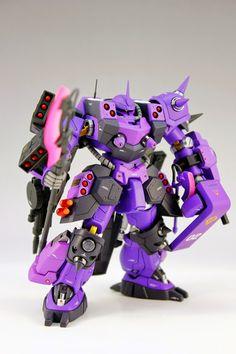 GUNDAM GUY: HG 1/144 Super Custom Zaku F2000 - Customized Build