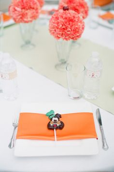 Goofy Baby Shower; Place setting cherishpaperie.com
