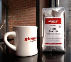 Gimme! Coffee  - second best coffee in America (really? second? i'd say first). Ithaca, NY.