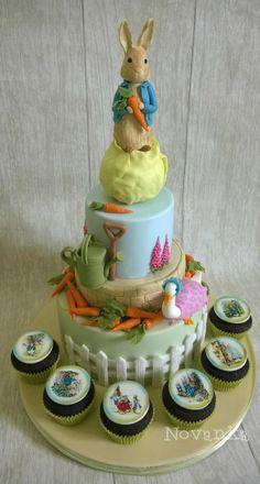 Peter Rabbit - cake by Novanka