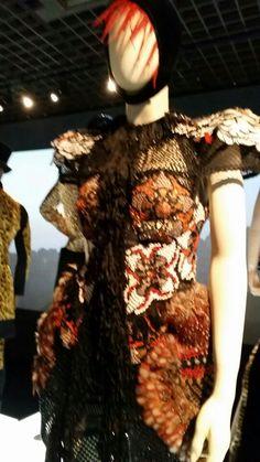 Dress detail, Jean Paul Gaultier