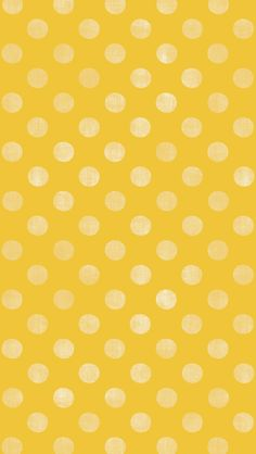 iphone 5 wallpaper - #yellow #polkadot #pattern