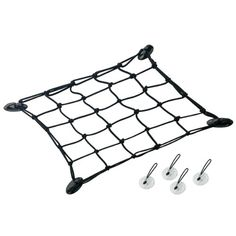 AIRHEAD® SUP Bungee Cargo Net 4 Heavy-Duty 15 x 15 stretch cord net secures gear to your SUP or kayak 2 attachment options 4 Hi-Impact lashing points with ad Sup Paddle Board, Sup Stand Up Paddle, Kayaking Tips, Kayak Accessories, Cargo Net, Sup Yoga, Inflatable Boat, Jon Boat, Canoe Boat