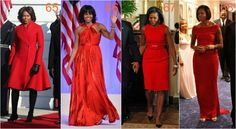 michelle obama czerwienie Michelle Obama, Formal Dresses, Red, Fashion, Moda, Formal Gowns, Fasion, Trendy Fashion, Rouge