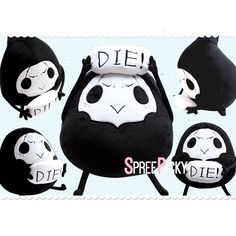 Overwatch Reaper Doll Pillow SP178973