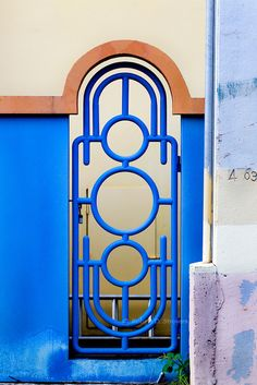 Art Deco Gate - Puerto Rico