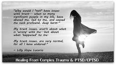 post traumatic stress disorder , complex ptsd , ptsd , cptsd | Fear Of Trust & Abandonment