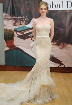 Inbal Dror (FW 2014) #weddingdresses #vestidodenovia #NYBW