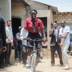 @powerifbicycles bringing huge smiles to the people of Zambia #cycling #bike #ride #exercise #explore