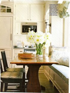 Kitchen Banquettes With Storage   Belclaire House: Suzeday Tuesday: Kitchens