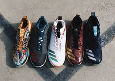 114180d6dff9 #sneakers #news adidas Baseball Unveils Insanely Colorful Boost Shoes For  The 2017 MLB All