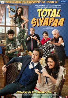 Total Siyapaa 2014 Hindi 720p DvDRip 800MB | 720p mkv Movies | free movies online