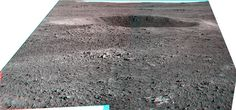 "Opportunity sol 3010 Pancam Anaglyph - ""Courtesy NASA/JPL-Caltech."" processing 2di7 & titanio44"