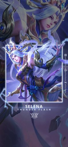 Selena Thunder Flash - Mlbb Wallpaper by efforfake on DeviantArt Flash Wallpaper, Dark Wallpaper Iphone, Mobile Legend Wallpaper, Hero Wallpaper, Bang Bang, Easy Pokemon Drawings, Alucard Mobile Legends, Moba Legends, Cute Potato