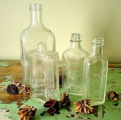 vintage medicine style bottles as #Redneck #Rum? Make them large. Or make them personal serving size....?