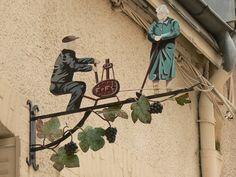 Balade photographique à Hautvillers. France.Les enseignes 1. - Le blog photo de Deconinck Roland