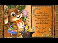 WIELKANOCNE ŻYCZENIA - YouTube Winnie The Pooh, Teddy Bear, Scrapbook, Youtube, Stickers, Humor, Retro, Toys, Disney Characters