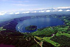 ¡El lago de Coatepeque, hermoso sin duda!