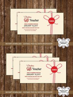 Multipurpose Gift Voucher Template. Creative Card Templates. $7.00