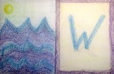 Waldorf ~ grade ~ Letter: W ~ Wave Waldorf Preschool, Waldorf Curriculum, Waldorf Education, Reggio, Grade 1 English, Montessori, Alphabet Pictures, Letter Pictures, Education And Literacy