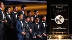 The FIFA/FIFPro World XI is chosen by over 50,000 professional football players from all over the world, who vote for the best player in each position.