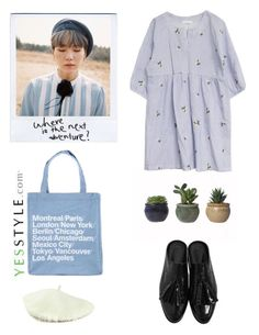 """""""young forever"""" by thefashionaccounts ❤ liked on Polyvore featuring TheLeesW, Goroke, Spring, casual, korean and yesstyle"""