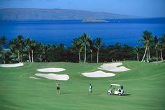 Maui golf course, Hawaii