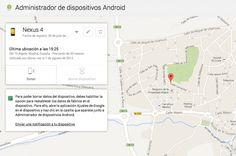 Ya disponible la web de Administrador de Dispositivos Android para localizar y borrar los datos de tu Android