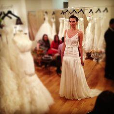 #Eleonore Bridal Spring 2013 #brides #bridal #bridalmarket #love #weddings #NY - @francescaonline- #webstagram