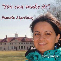 Pamela's quote