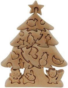 3d wooden christmas tree - Buscar con Google