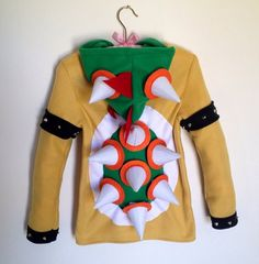 This Costume Hoodie Will Turn You Into Bowser