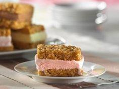 Crunchy Ice Cream Sandwiches