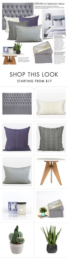 """""""dream on bedroom decor"""" by ghomecollection on Polyvore featuring interior, interiors, interior design, home, home decor, interior decorating, Post-It, Bed Head by TIGI, Zodax and bedroom"""