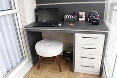 Agora temos um escritório na varanda, armários novos no banheiro da suíte e no lavabo e o painel de tv do quarto de casal! Espero que gostem do vídeo