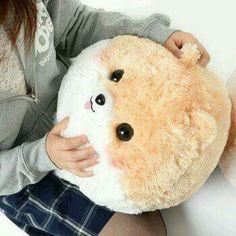 Fluffy Amuse Fuwa-mofu Pometan and Nakamatachi BIG Plush Dog Stuffed Puppy White Black Brown Colour Ball Shaped  #Affiliate