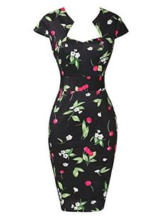 awesome Belle Poque® Vintage Bodycon Prom Cocktail Dresses Cap Sleeve