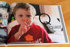 DIY Personalized Alphabet Book