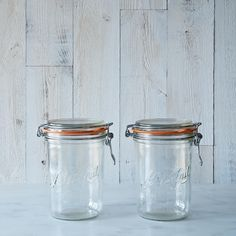 Le Parfait 35 Ounce Bail Closure Canning Jar (Set of 2) on Provisions by Food52 >> YES!