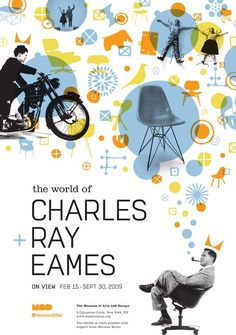 「charles ray eames poster」の画像検索結果