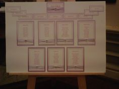 Traditional table plan