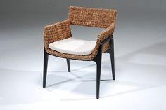 Cadeira de fibra de bananeira