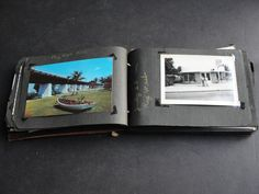 For your consideration is a Vintage 1950's early -Set of (77) Original Black-White Photos ,Real Photo Postcards and Colored Postcards - Family, Group