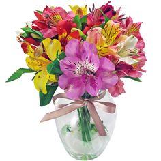 Arranjo de Flores - Astromélias  #arranjodeflores #bouquetdeflores   #astromelias @imagensdeflores