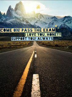 老公,加油!今天的考试别紧张,good luck!!!!!!!!!! 好想你啊好想你。我爱你。
