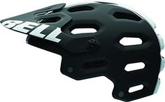 Bell Super 2 Helmet -Matte Black W/ White Stripe Viper - Small