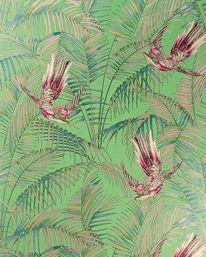 Sunbird Grass/Cerise/Metallic Gilver från Matthew Williamson