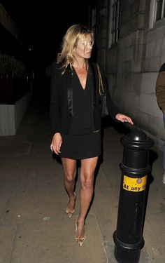 Kate Moss - Kate Moss Out Late in London